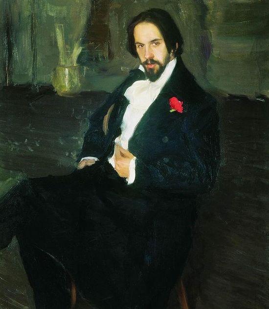 Портрет И.Я. Билибина. Художник: Б. Кустодиев, 1901