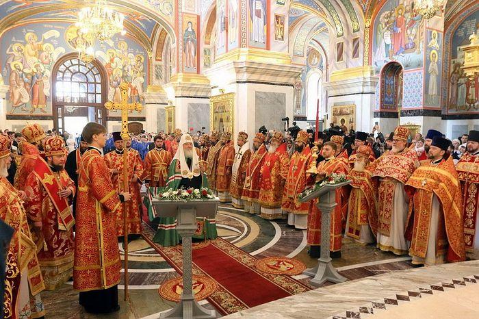 Освящение Воскресенского собора Святейшим Патриархом Кириллом. 31 мая 2019 года