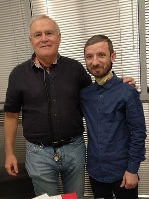 Протоиерей Оле и его лечащий врач Яков Шехтер