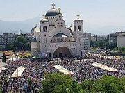 В Черногории прошло массовое богослужение в поддержку Сербской Православной Церкви