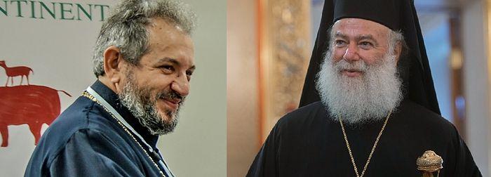Met. Seraphim (left), Pat. Theodoros (left). Photo: ARC, RIA-Novosti