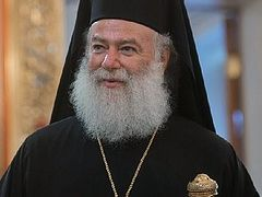 Alexandrian hierarchs call for conciliar solution to Ukrainian crisis