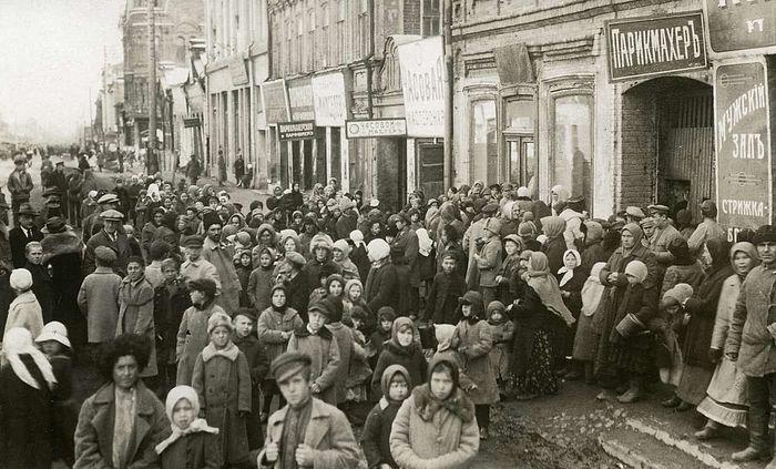 В Петрограде. 1920-е