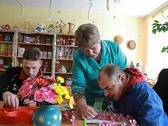 ROC's first church in honor of St. Patrick under construction at Belarusian boarding school for disabled children