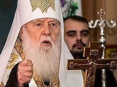 Results of Philaret's council: unification council and tomos rejected, KP is restored, 2 new bishops elected, claims jurisdiction over monastery where Epiphany Dumenko serves