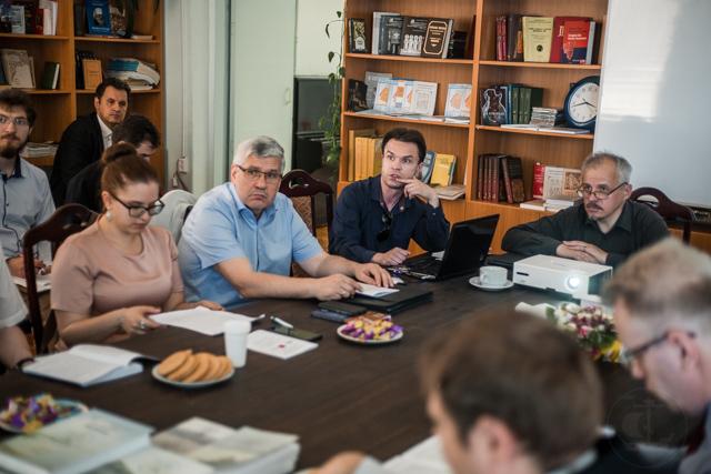 В Санкт-Петербургской духовной академии прошла конференция «Просвещение, образование, книжность в Древней Руси»
