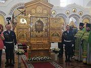 В столице Ставропольского края встретили главную икону Вооруженных сил РФ «Спас Нерукотворный»