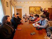 Управделами УПЦ рассказал иностранным журналистам о ситуации в украинском Православии