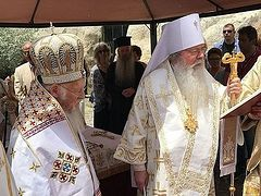 "Rumors of ""back room deals"" during Constantinople-OCA concelebration unfounded, sources say"