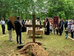 New church being built for new Romanian Orthodox monastery in Michigan
