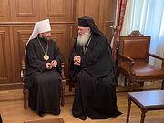Митрополит Волоколамский Иларион встретился с Предстоятелем Элладской Православной Церкви
