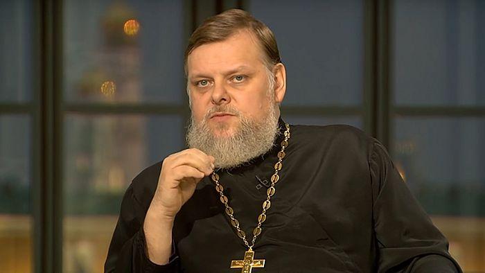 Протоиерей Леонид Калинин. Фото: Телеканал «Царьград»