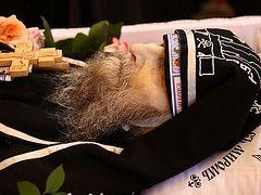 Svyatogorsk Lavra in Ukraine bids farewell to eldest brother—93-yr-old Schemamonk Selaphiel