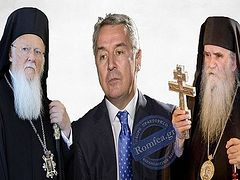 Constantinople says no one will recognize Montenegrin president's church, continues to expect recognition of Poroshenko's Ukrainian church