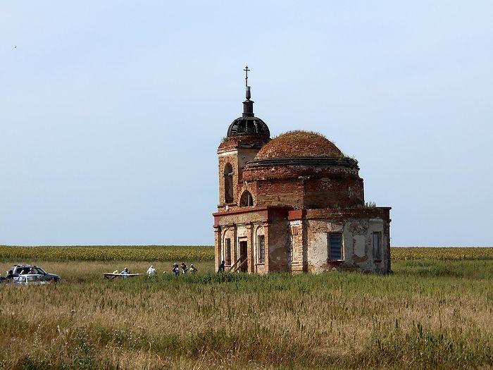 Преображенский храм села Новоспасское