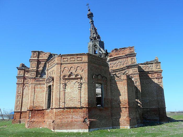 Казанская церковь в Логиновке