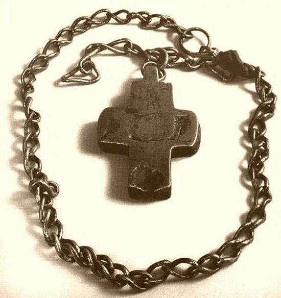 Медный крест преподобного Серафима Саровского