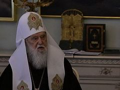 False Patriarch Philaret awards fighters of pro-Nazi militia C14