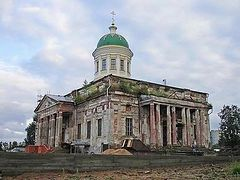 Chinese students to help restore ruined Russian church
