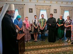 Schismatic priest and parish return to canonical Ukrainian Church
