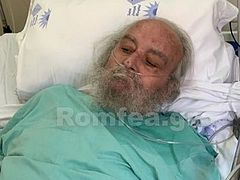 Former patriarch of Jerusalem hospitalized in ICU