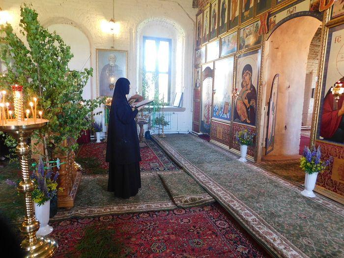 В Успенском Шаровкином монастыре