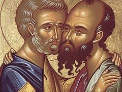 The Holy Pre-eminent Apostles Saints Peter and Paul