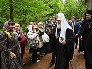 Состоялся визит Святейшего Патриарха Кирилла на острова Коневец и Валаам