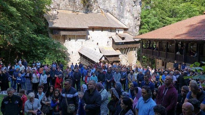 Петровдан у Манастиру Црна Река на Косову и Метохији