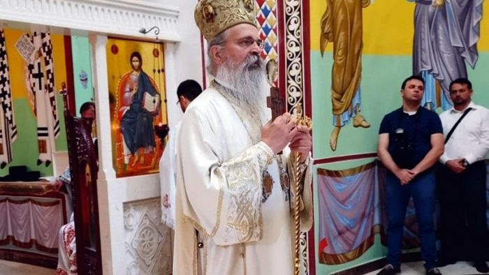 Епископ Теодосије данас у Манастиру Врачево