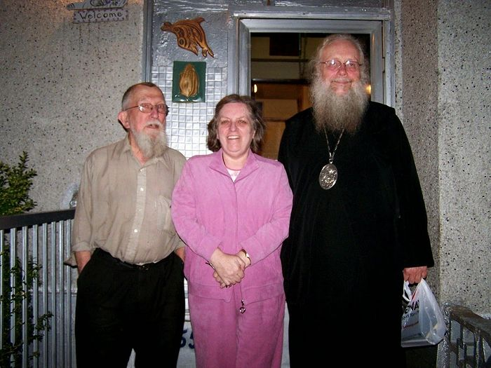 Vladyka Seraphim at Dr. Hartley house and Chapel