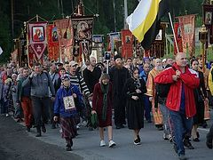 60,000 process in Ekaterinburg in honor of the Royal Martyrs (+ VIDEO)