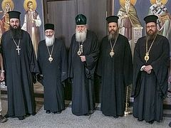 Bulgarian Patriarch holds meeting on Ukrainian question with Cypriot hierarch and expert on combating sects