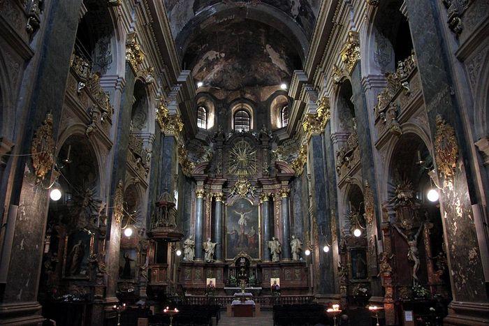 Roman Catholic Saints Peter and Paul Garrison Church Lviv. Photo: wikimedia