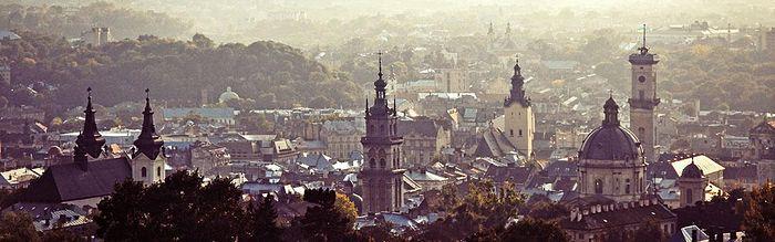 Churches of different denominations in Lviv. Photo: ukraine-travel-secrets.com