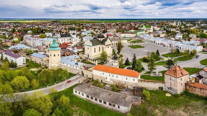 Zhovkva Castle, Lviv region. Photo: Ukrainetrek