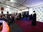 Святейший Патриарх Кирилл посетил молодежный форум «ДоброЛето. Территория веры»