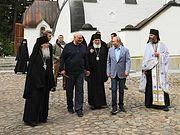 Владимир Путин и Президент Республики Беларусь Александр Лукашенко посетили Валаамский монастырь