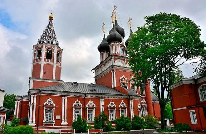 The Church of the Deposition of the Robe of the Virgin Mary on Donskaya Street