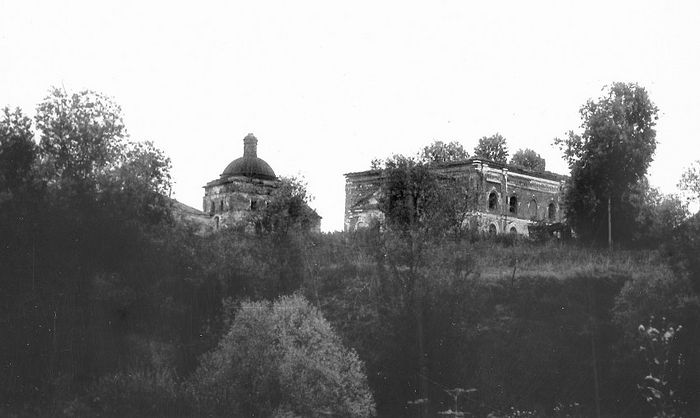 This is how St. George's Meshchovsk Monastery looked like when it was desolate