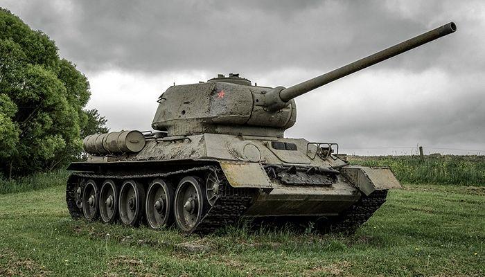Танк Т-34. Фото: Jaroslav Moravcik / Shutterstock.com