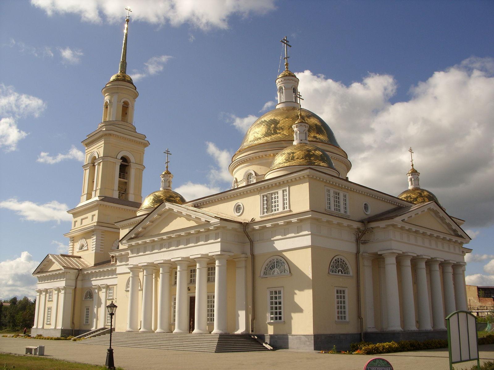 Нижнетагильской епархии передано здание восстановленного Спасо-Преображенского собора Невьянска