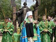 В Оренбурге освящен памятник преподобному Сергию Радонежскому