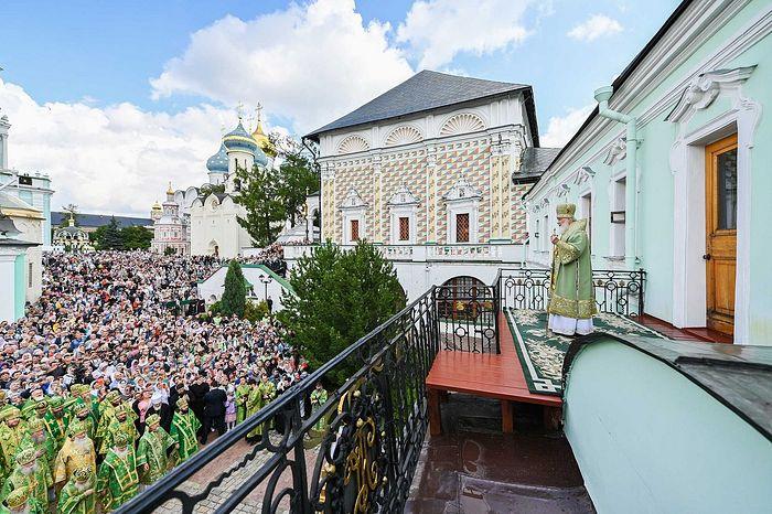 Слово в день памяти преподобного Сергия Радонежского в Троице-Сергиевой лавре