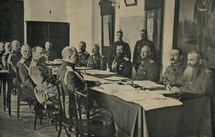 Седница војног савета од 1. априла 1916. г. под председавањем цара