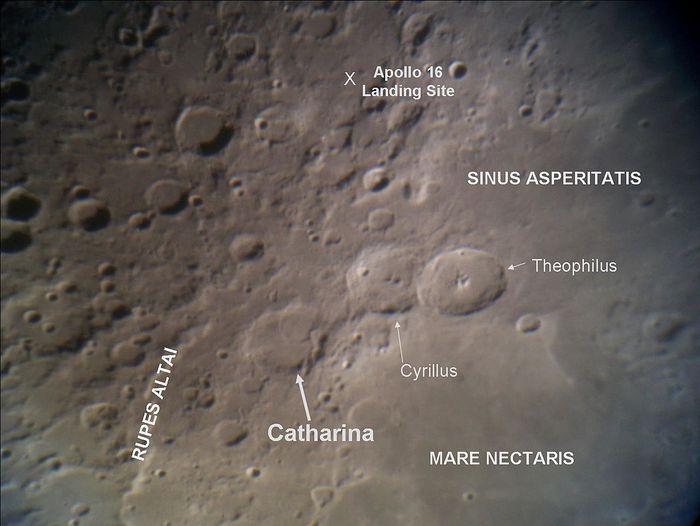 Catherina crater. Photo: EricandHolli, Wikipedia.