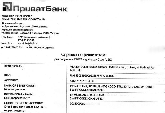 Swift Intermediary Bank