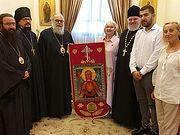 Патриарх Антиохийский Иоанн принял делегацию из России