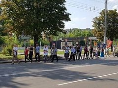Large cross procession for Baptism of Rus' held in Rivne, Western Ukraine