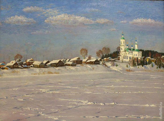 Vladimir Fedukov. Spring Is Coming Soon. 2009. Canvas, oil.